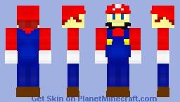 Super Mario 64 Minecraft Skin