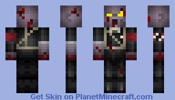 Nazi zombie Minecraft Skin