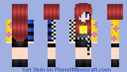 Jisoo blackpink as if it's your last Minecraft Skin