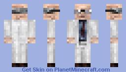 Half Life 1 Scientist Minecraft Skin