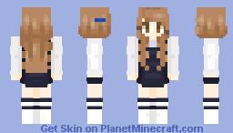 Tzuyu twice signal Minecraft Skin
