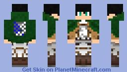 Eren Jäger Minecraft Skin