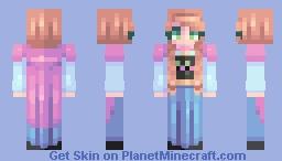 ♡ 𝓿𝒶𝓁𝓀𝓎𝓇𝒾𝑒𝓃 ♡ anna   frozen Minecraft Skin