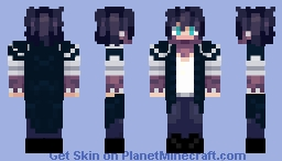 Dabi Minecraft Skin