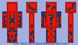 spidey slime Minecraft Skin