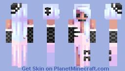 ♡ 𝓿𝒶𝓁𝓀𝓎𝓇𝒾𝑒𝓃 ♡ gothic bride Minecraft Skin