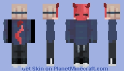 Devil Mask Minecraft Skin