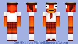 *600views!* highschool girl fish Minecraft Skin