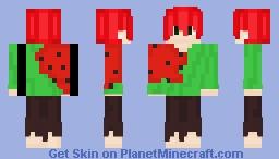 watermelon Minecraft Skin