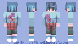 beautiful people Minecraft Skin