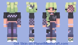 you're still the only thing and everything i need in my life Minecraft Skin