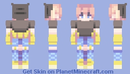shooting star Minecraft Skin