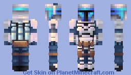 Jango Fett Minecraft Skin