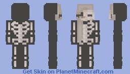 S k e l e t o n Minecraft Skin