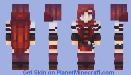 Ruby Rose Minecraft Skin