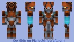 Skirmisher Murmillo Minecraft Skin
