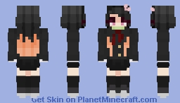 Demon Slayer - Nezuko - School Days Minecraft Skin