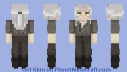 Toss A Coin To Your Witcher Minecraft Skin