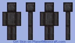 Netherite Minecraft Skin
