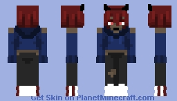 Into the Depths of Hell Minecraft Skin