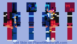 blue complexity - collab rce Minecraft Skin