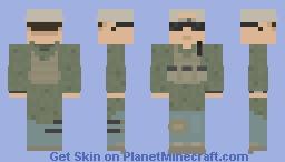 Desert Night Camo Parka Kit Minecraft Skin