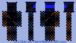 cool cyborg Minecraft Skin
