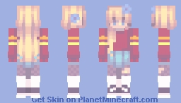 can't help it~ Minecraft Skin