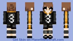 Genderbent-Asahi - Haikyuu Minecraft Skin