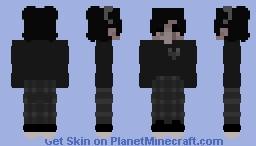 + black + Minecraft Skin