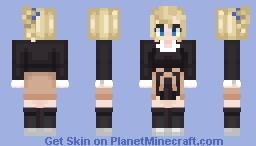Ai Hayasaka (school girl) Minecraft Skin