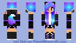 Galaxy fox Minecraft Skin
