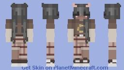 ₊˚.caramel macchiato (girl ver.)₊˚. Minecraft Skin