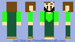 Link's Awakening Nintendo Switch ( HenHouse Keeper ) Minecraft Skin