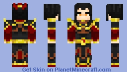 Azula Minecraft Skin