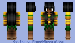 Aztec Tribe - Female Minecraft Skin