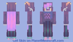 ugly story フね畝 Minecraft Skin