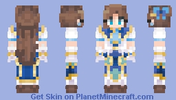 Lady Katarina (my next life as a villainess) [Jaslin06] Minecraft Skin