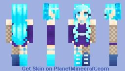 ~Intergalactic~ Persona! Minecraft Skin