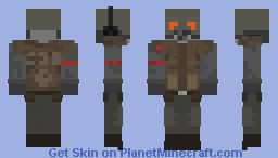 HL2 Beta Concept Art Combine Soldier Minecraft Skin