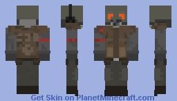 Hl2 Beta Concept Art Combine Soldier Minecraft Skin