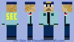 Seguridad privada jhonny Minecraft Skin