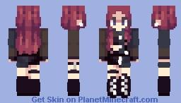Jisoo Minecraft Skin