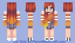 rory - remake | popreel Minecraft Skin