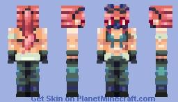 idk - SF Attack Minecraft Skin