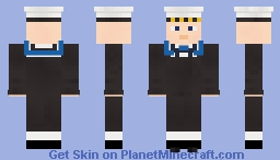 Royal Navy Able Seaman Minecraft Skin