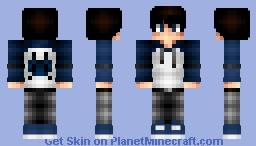 F.C. Galaga Fan Minecraft Skin