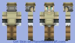 Joseph Joestar Minecraft Skin