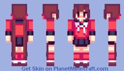 molly was a good girl Minecraft Skin