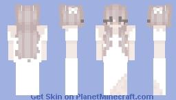 Tzuyu In A Wedding Dress Minecraft Skin